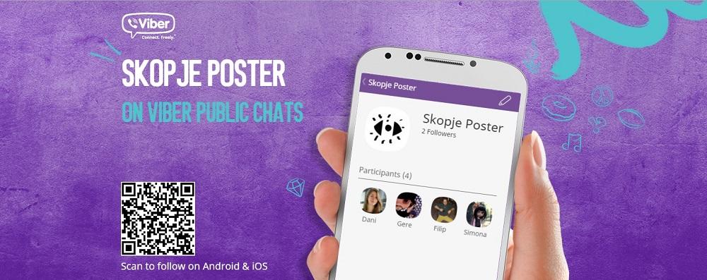 Skopje Poster VIber Chat