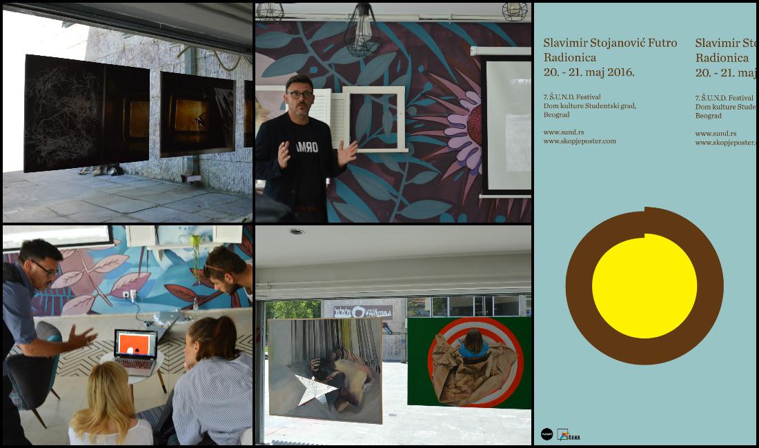 Skopje Poster Festival Partner of SUND Art Festival | Belgrade, Serbia