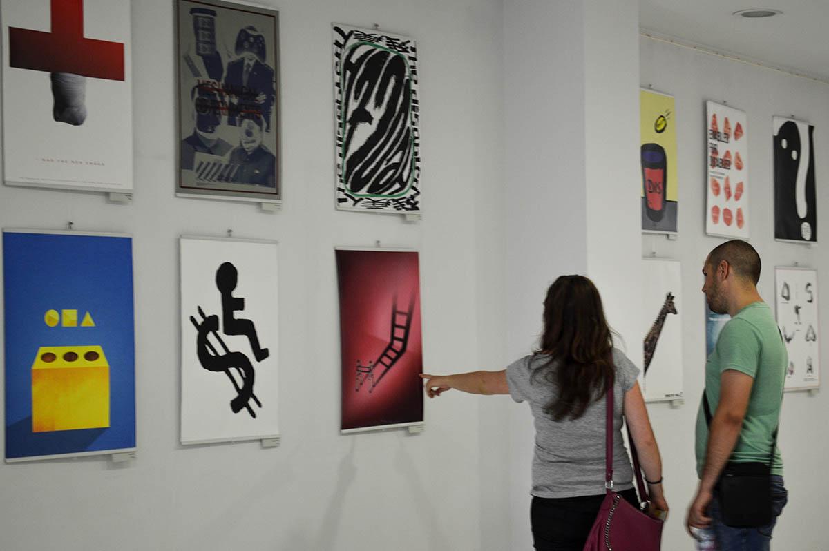 Skopje Poster Festival presented at 8. ODW
