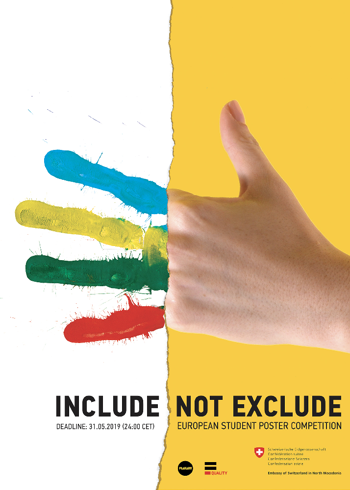 "Poster Competition ""Include, Not Exclude"" – 21. Century Challenge"